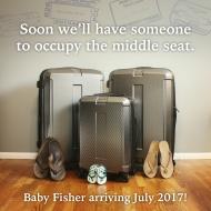 Our pregnancy announcement